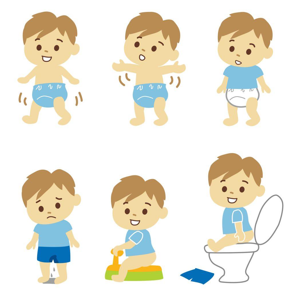 入園前までにしておきたい最低限のトイレトレーニングの準備
